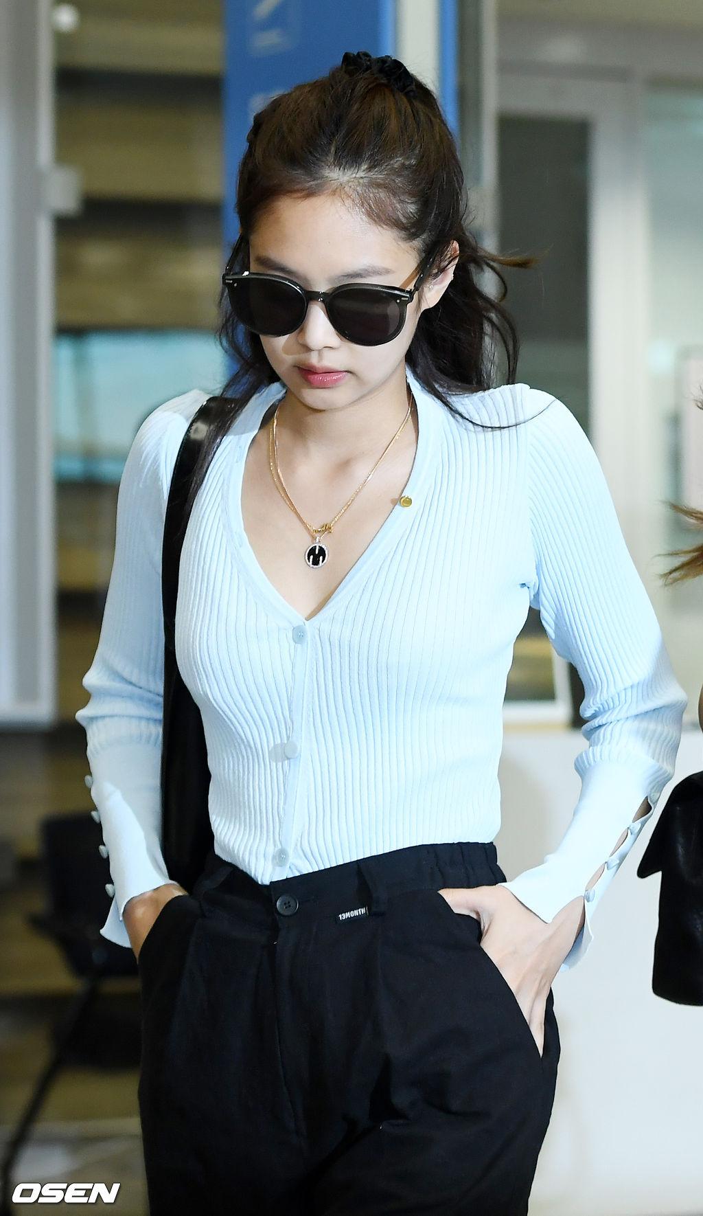 jennie airport luxurious beauty 3