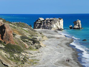 Photo: Petra tou Romiou Aphrodite's birthplace, Cyprus