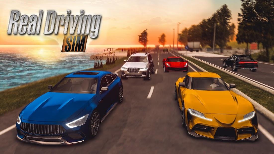 Real Driving Sim Android App Screenshot