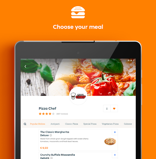 Takeaway.com - Order Food 6.16.1 screenshots 9