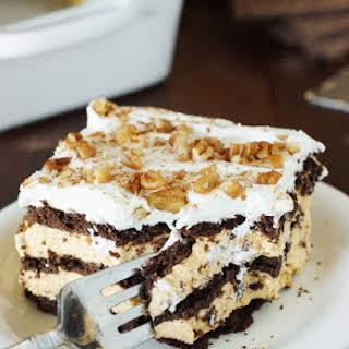 Easy No-Bake Chocolate-Pumpkin Icebox Cake.