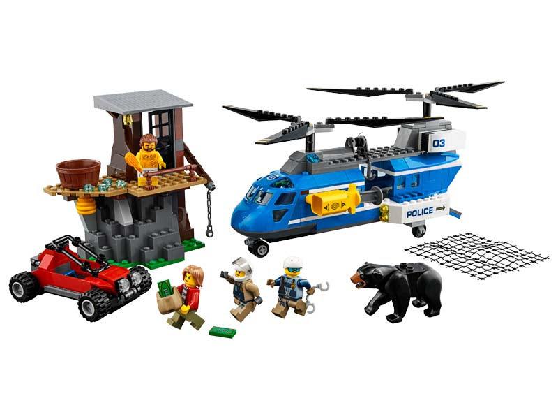 Contenido de Lego® 60173 Montaña: Arresto