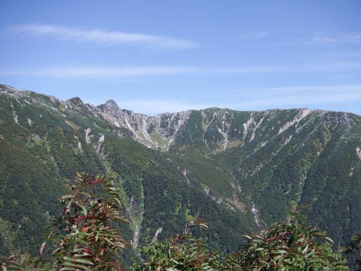 千畳敷(ロープウェイ)と宝剣岳