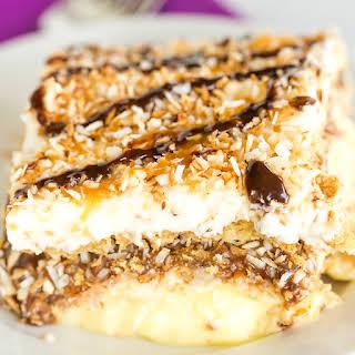 Samoa Icebox Cake.