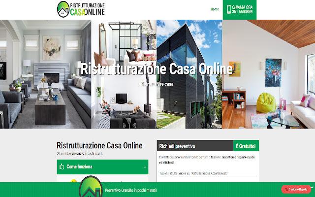 Ristrutturazione casa online
