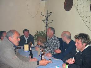 Photo: 2003 u restoranu na Campu Početak proljetnog dijela 2002/2003, 14.03.2003. Igrači i uprava s trenerom Macanom (ubrzo nakon toga je dao ostavku)