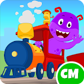My Monster Town - Toy Train Games For Kids Android APK Download Free By IDZ Digital Private Limited