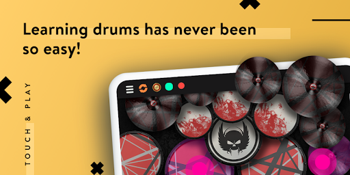 Real Drum - The Best Drums Pads Sim - Get Lessons screenshot 14