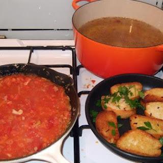 Sopa De Rape (Monkfish Stew)