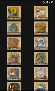 Field Guides for MHW 2.92 APK Mod for Android 3