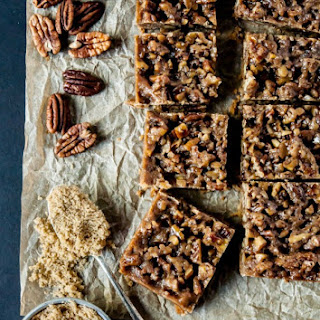 Vegan Maple Pecan Bars