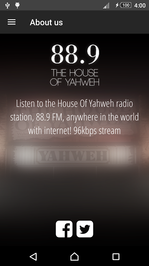 88.9 The House Of Yahweh- screenshot