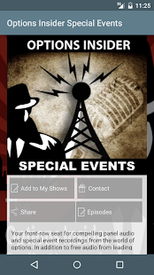 Options Insider Radio Network- screenshot thumbnail