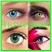 Colorful Eye Contact Lenses Models Icon
