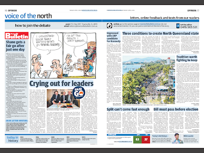 The Townsville Bulletin- screenshot thumbnail