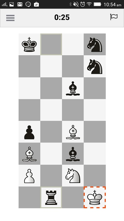 Half Chess- screenshot