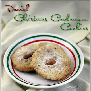 Danish Christmas Cardamom Cookie