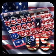 American Flag Keyboard Theme