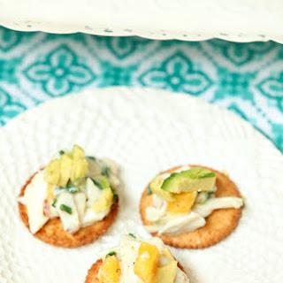 Crab and Mango Salad with Avocado.