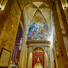 Church in Aix-en-Provence by Jiri Cetkovsky - Buildings & Architecture Other Interior ( aix, historic, provence, church, interior )