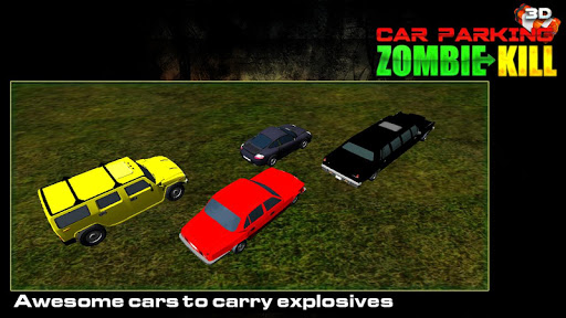 Car Parking Zombie Kill 3D