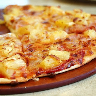 Home Pizza with Sausage and Pineapple Recipe