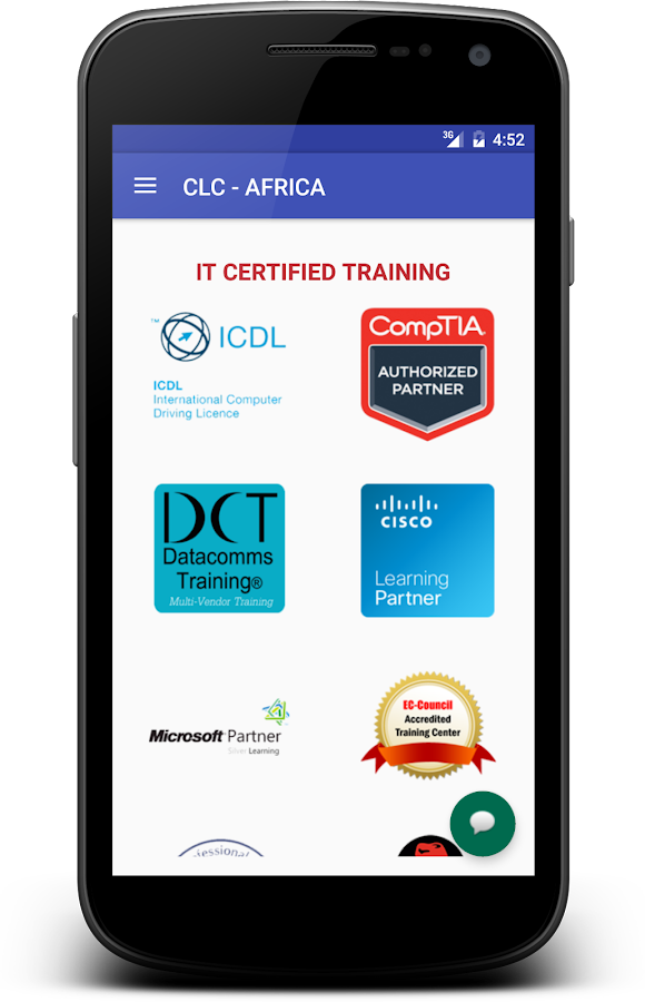 CLC AFRICA- screenshot
