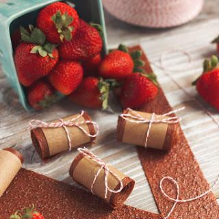 Honey-Sweetened Strawberry Fruit Leather
