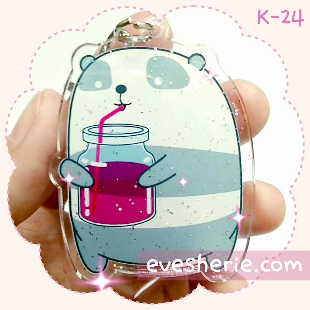 พวงกุญแจ แพนด้า น่ารัก cute panda keychain