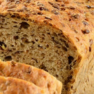 Rosemary, sage and thyme Banting bread.