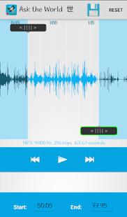Sound Recorder mp3 Cutter screenshot 3