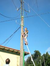 """Photo: EA1EOL en el """"arbol"""" de antenas de Magalofes"""