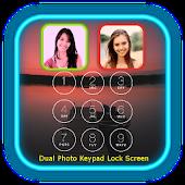 Dual Photo Keypad Lock Screen