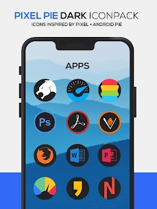 Pixel Pie DARK Icon Pack v3.8 [Patched] 4