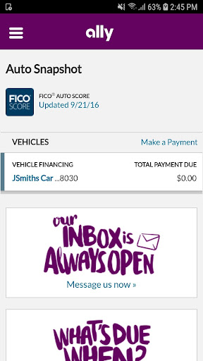 Ally Auto Mobile Pay screenshot