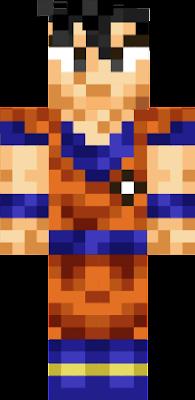 Dragonball Nova Skin - Skins para minecraft pe de dragon ball z