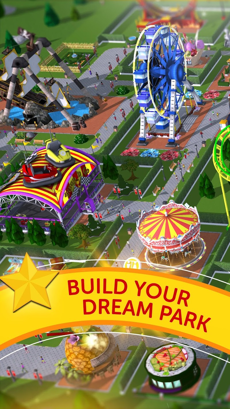 RollerCoaster Tycoon Touch Screenshot 0