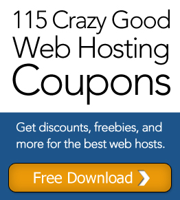 115 Crazy Good Web Hosting Coupons. Get discounts, freebies, and more for the best web hosts.