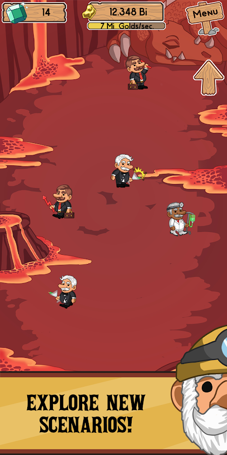 Gold Miner Evolution- screenshot
