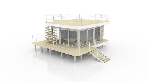 030 avec double terrasse