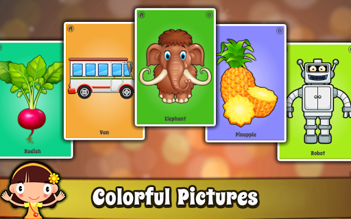 Baby First words Flashcards - Kids Learning games screenshot 5