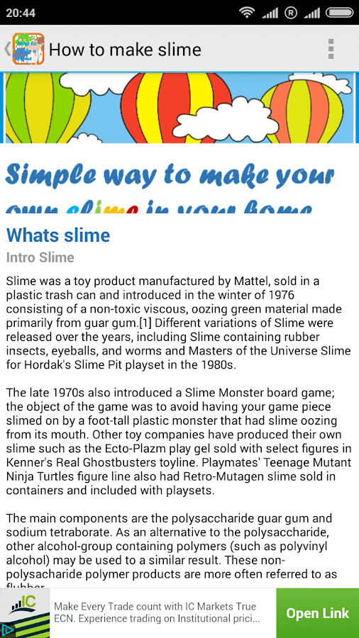 How to make slime android apps on google play how to make slime screenshot ccuart Images
