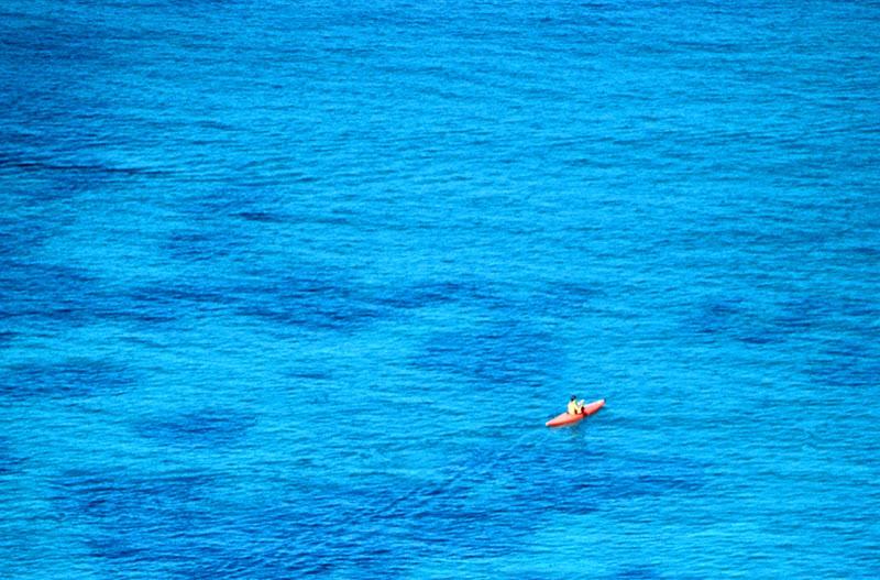 Nel blu di Toninola