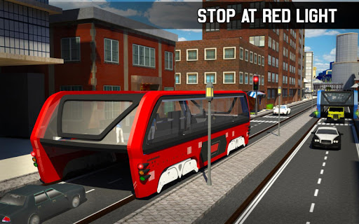 Elevated Bus Simulator: Futuristic City Bus Games 2.2 screenshots 14