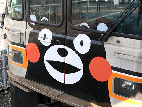 熊本電気鉄道 01形電車 上熊本駅にて その2