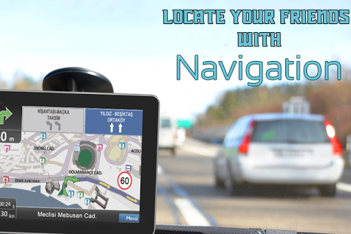GPSナビゲーション&トラッカーマップ