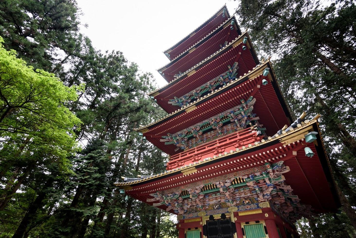 【旅16日目】世界遺産「日光の社寺」