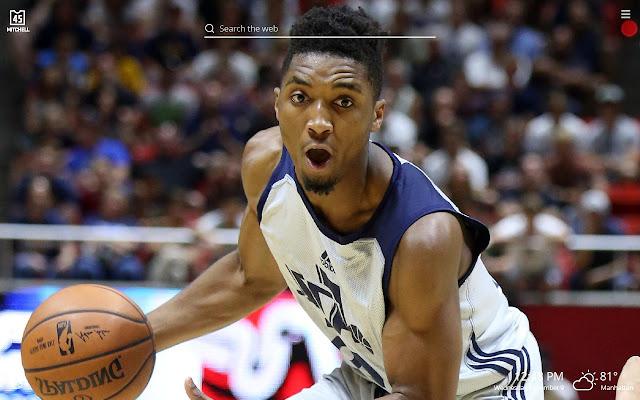 Donovan Mitchell NBA Basketball HD Theme