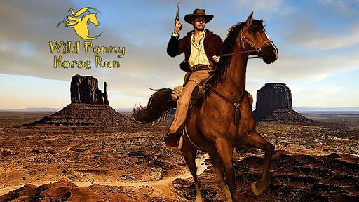 Wild Pony Horse Run 3D