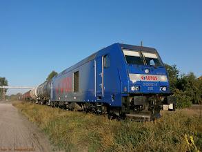 Photo: BR 285 126 (Lotos Kolej) {szlak Toruń Północny - Toruń Wschodni; 2013-09-06}
